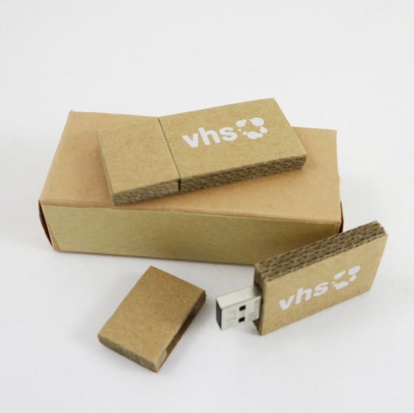 USB Stick aus Wellpappe